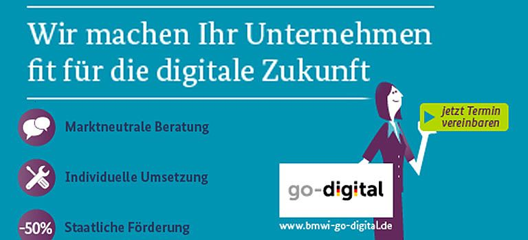 """go-digital"" mit COMMERCE4"