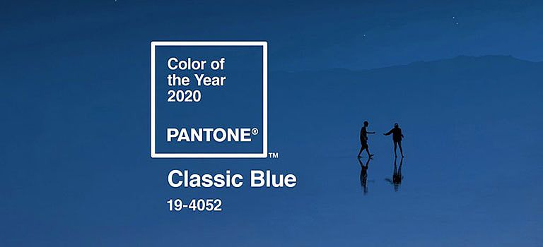 Classic Blue ist die Farbe 2020
